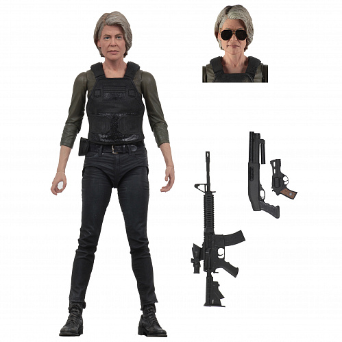 "Фигурка NECA Terminator Dark Fate (2019) - 7"" Scale Action Figure - Sarah Connor 51924"