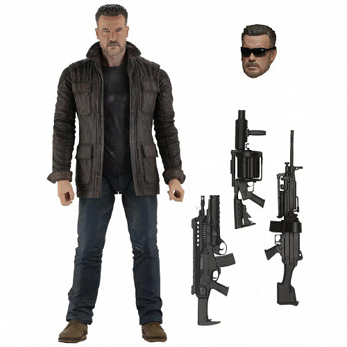 "Фигурка NECA Terminator Dark Fate (2019) - 7"" Scale Action Figure - T-800 51925"