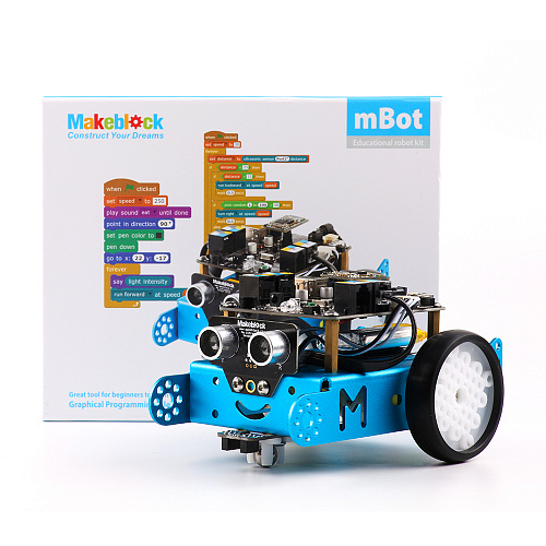 Конструктор Makeblock mBotV1.1-Blue(Bluetooth Version)