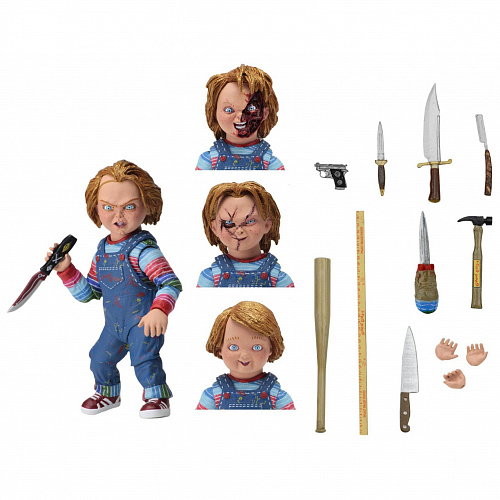 "Фигурка NECA Chucky- 7"" Scale Action Figure Ultimate Chucky 42112"