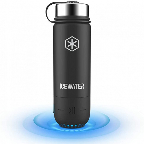 Умная бутылка ICEWATER 3-in-1 Smart Stainless Steel Water Bottle