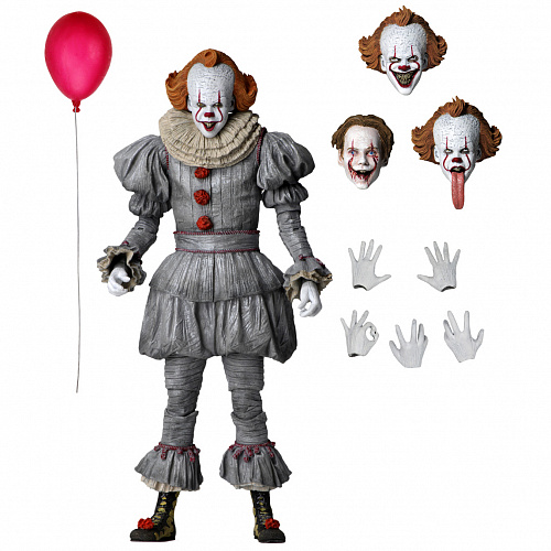 "Фигурка NECA IT Chapter 2 - 7"" Scale Action Figure - Ultimate Pennywise (2019 Movie) 45454"
