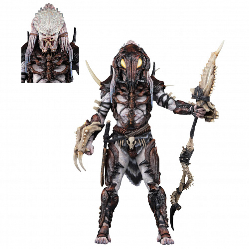 "Фигурка NECA Predator - 7"" Scale Action Figure - Ultimate Alpha Predator 100th Edition Figure 51575"
