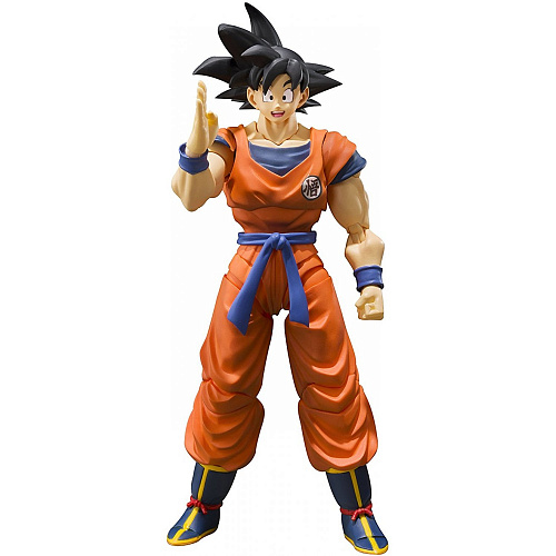 Фигурка Tamashii Nations S.H.Figuarts Dragon Ball Z Son Goku -A Saiyan Raised on Earth- 555403